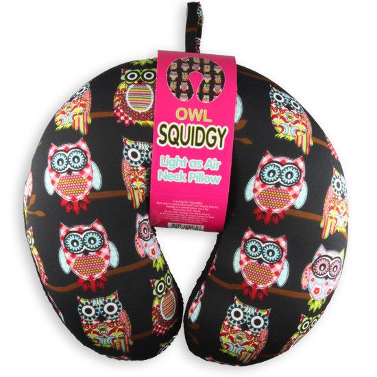 Squidgy Neck Pillow. An extremely lightweight and comfortable take anywhere neck pillow.