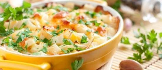 Prei - aardappel, gehakt ovenschotel