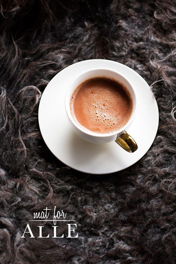 Kakao, Coco, hot chocolate, varm sjokolade, www.matforalle.no