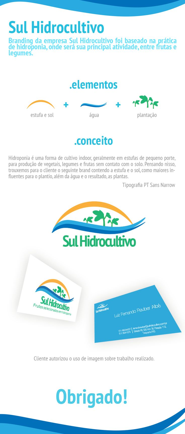 Branding | Sul Hidrocultivo on Behance