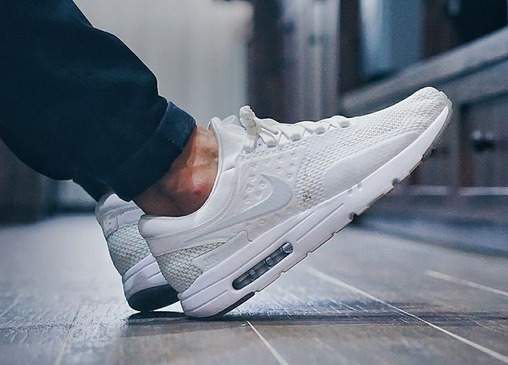 huge discount 18da5 a667b nike air max zero qs white pure platinum