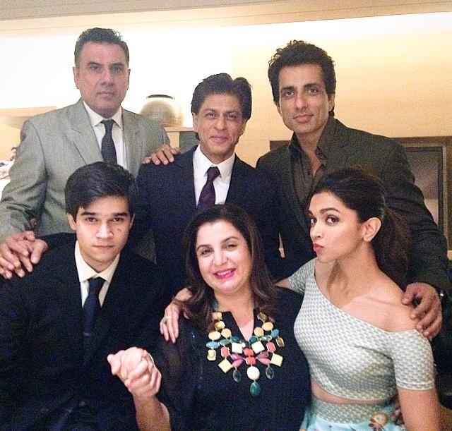 Shah Rukh Khan,Boman Irani,Sonu Sood,Vivaan Shah,Deepika Padukone n Farah Khan…