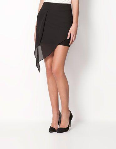 Bershka Romania - Bershka layered skirt