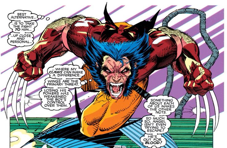 Jim Lee - Uncanny X-Men 272.  From a visual standpoint, Jim Lee defined who the X-Men are; his version is the definitive version, IMHO. And his Wolverine is always bitchin'.