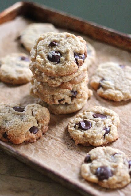 Chocolate chip and coconut cookies #coconut #coconutrecipes