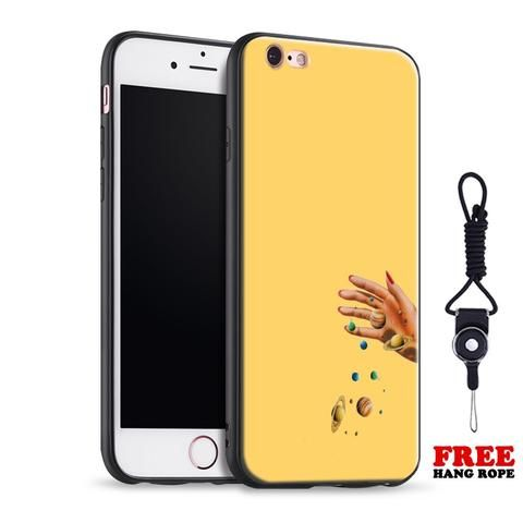 a5e320fef4 Yellow Space Hand iPhone Cute Phone Cases From Touchy Style Outfit  Accessories.  Variant: A 279 / For iPhone X 10 / Case & Strap.