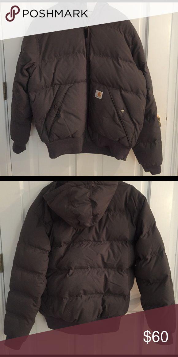 grey carhartt winter jacket worn once Carhartt Jackets & Coats Puffers