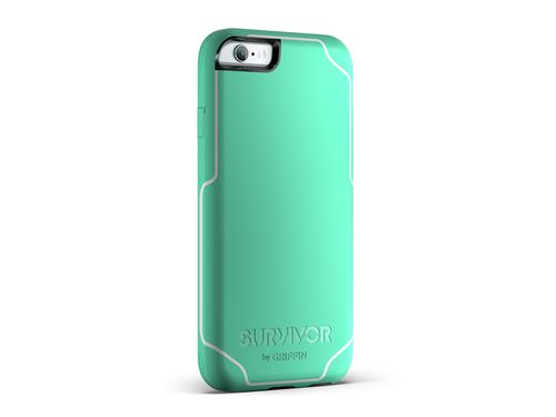 Griffin Survivor -Journey Strong / Military Standard 810-G standards [6.6 Ft.] Drop Protection On Concrete Cover Case Mint Green Fits Apple Iphone 7 Plus [5.5 inch ] Cellphone