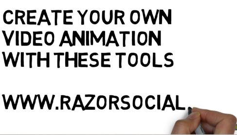 Animated Videos: 5 Tools to Create Animation Videos in a Flash - http://www.razorsocial.com/animated-videos/