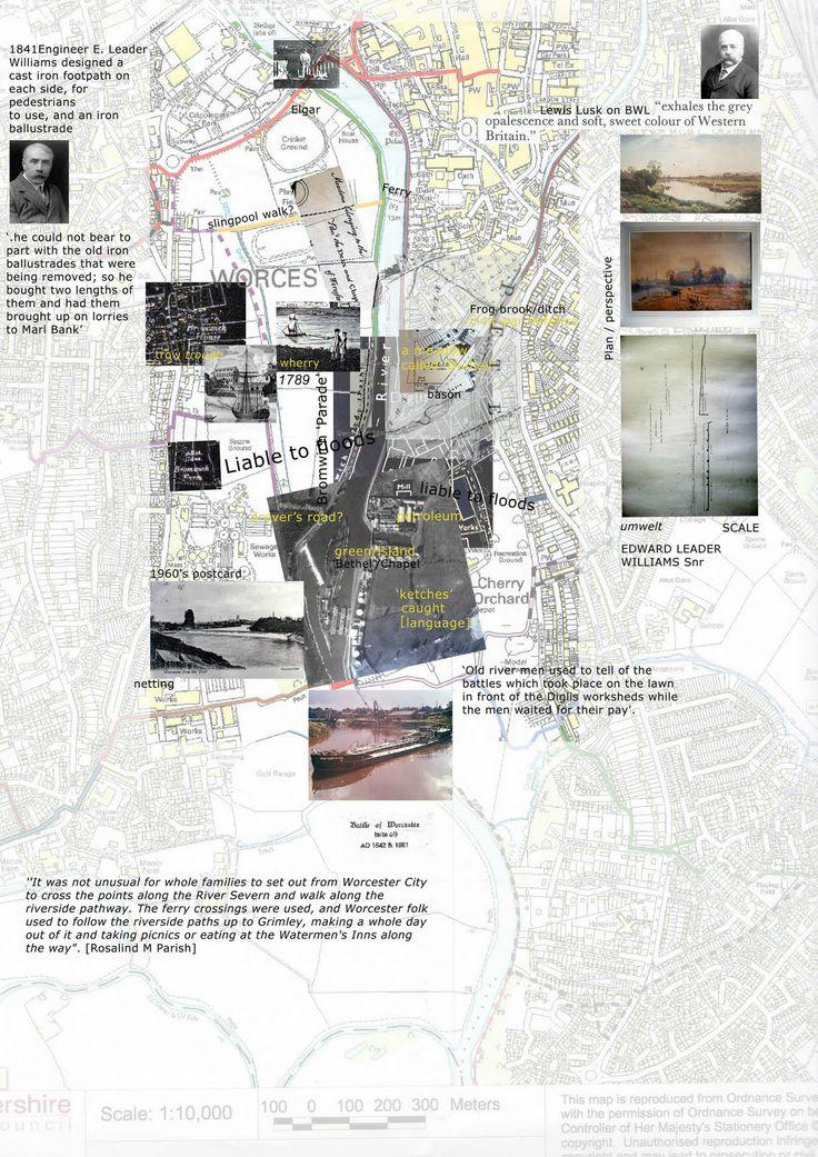 Collage-d Site Analysis Plan