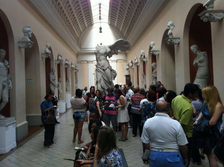 È allestita nel Museu Nacional de Belas Artes, che vanta una importante collezione di arte brasiliana e copie di sculture classiche