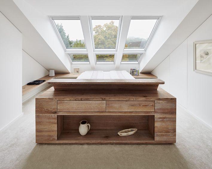 Die besten 25+ Dachfenster Schlafzimmer Ideen auf Pinterest - home office mit dachfenster ideen bilder
