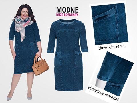 Kolejna NOWOŚĆ 💙 Zobaczcie na jeansową dzianinową sukienkę z kieszeniami ;) Wyjątkowo wygoda, wykonana z naturalnej bawełny z dodatkiem elastycznego materiału :D Doskonale dopasowuje się do sylwetki ;) Zamówicie? Miękka jeansowa sukienka ▶️ http://bit.ly/2gVhwqi Inne nowości ▶️ http://bit.ly/2aQi2UO