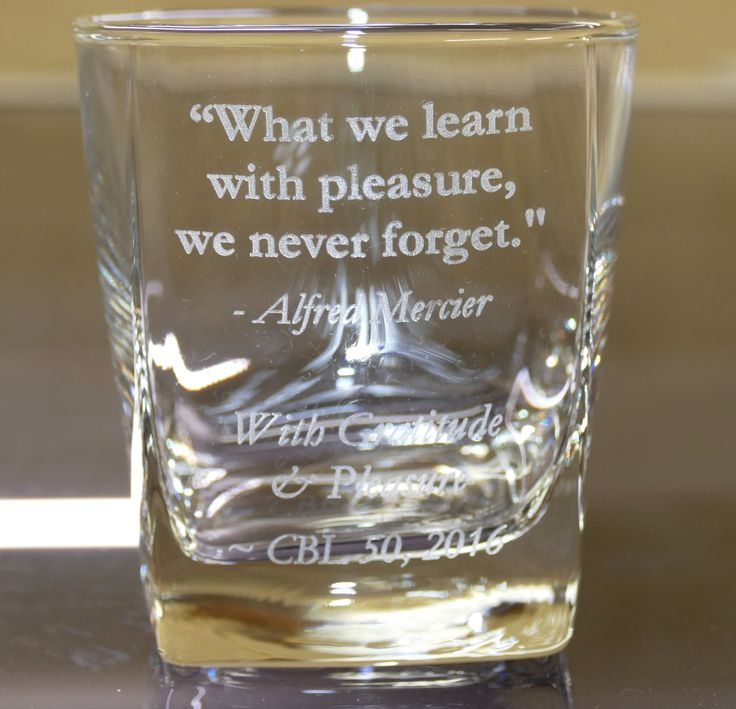 Engraved glasses example whisky / tumbler choose your glass and enter what you require engraved