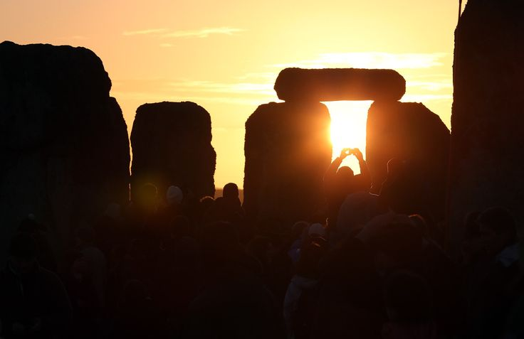 Winter Solstice 2012: Shortest Day Of The Year Marked By Pagan Celebrations (PHOTOS)