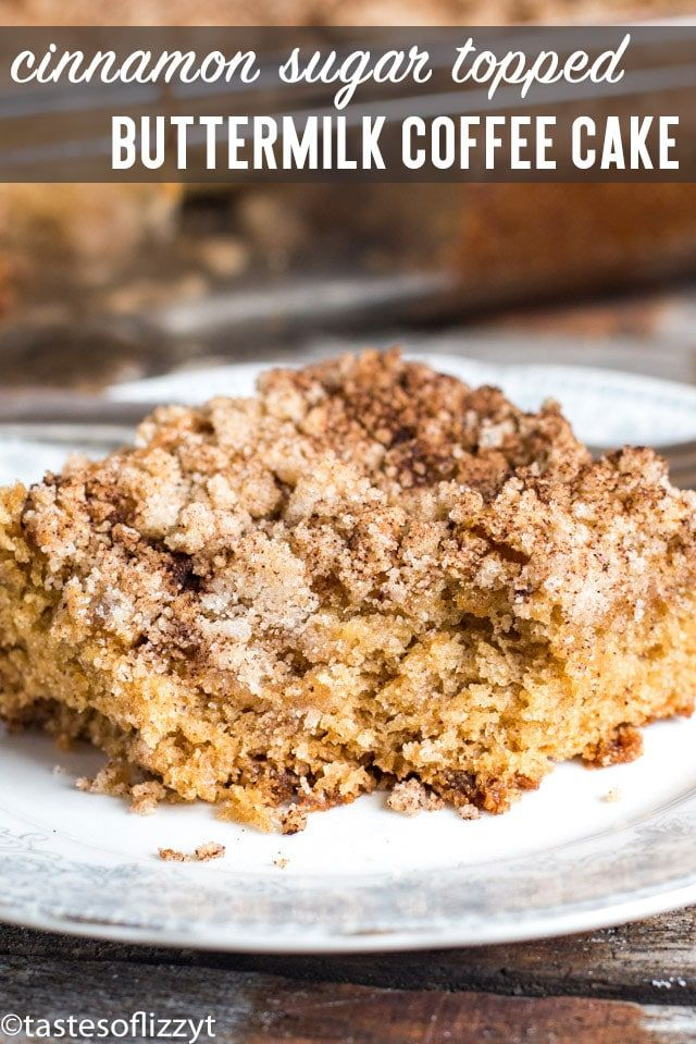 Buttermilk Coffee Cake With Crumb Streusel Is An Easy Cake Recipe That Will Quickly Becom Coffee Cake Recipes Easy Buttermilk Coffee Cake Breakfast Coffee Cake