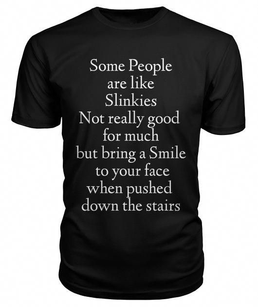 Life Is Fill Every Think. Black T-Shirt Front