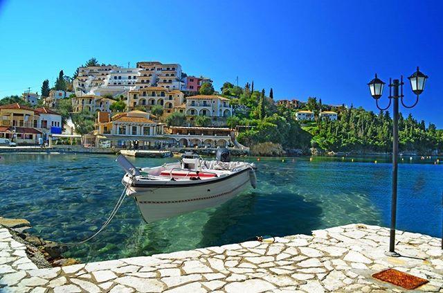 """Guy Laroche's favorite place was """"Sivota"""", the hidden gem of Western Greece."""