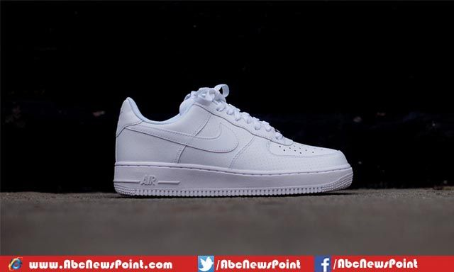 low top white air force ones