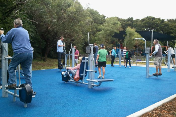 New communities need to start planning for the health and well-being of the elderly with spaces that promote social engagement, play and gentle exercise.