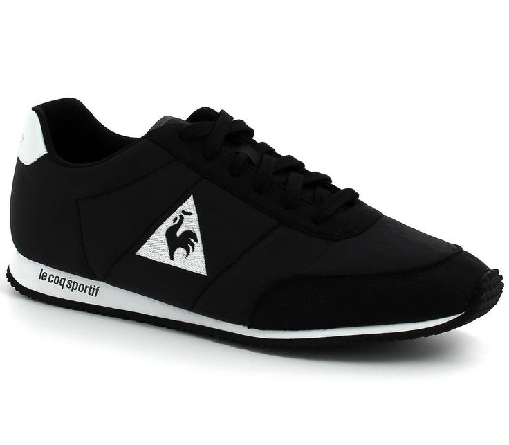 Le Coq Sportif Men Shoes Trainers Racerone Classic 1520609 Black Fashion  2016