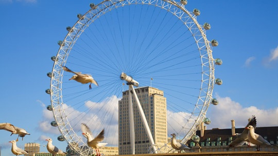 Since BFF just had to get married and move to London, an excursion to the London Eye is inevitable.