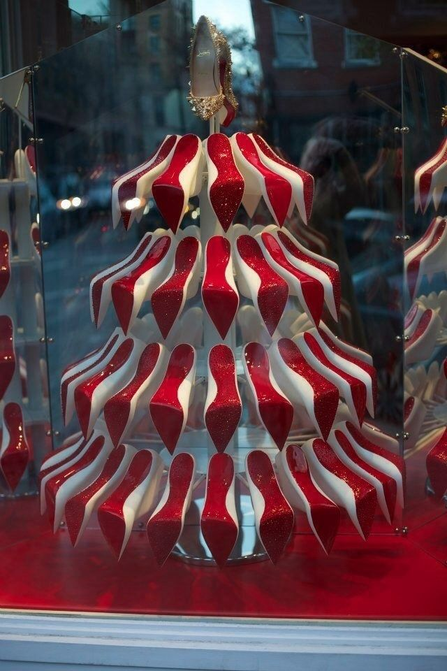 Louboutin Christmas Tree