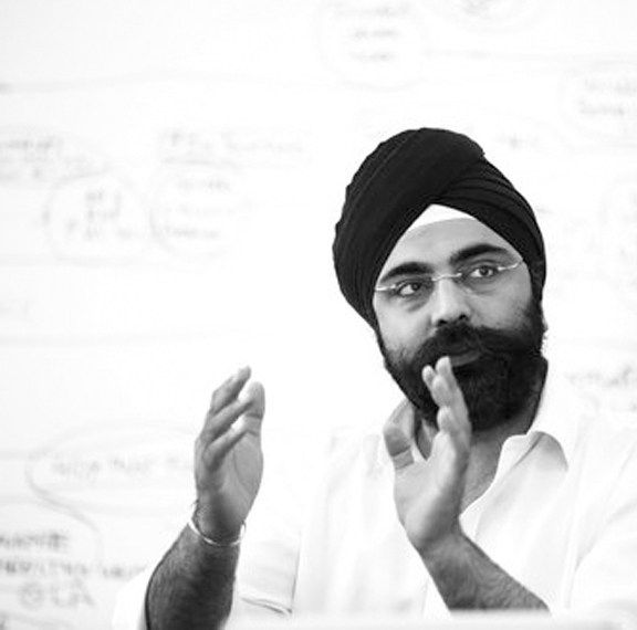 Indy Johar, keynote speaker for the Nordic Impact Week kickoff in Sundsvall, Sweden.