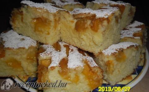Kefires-gyümölcsös süti recept fotóval