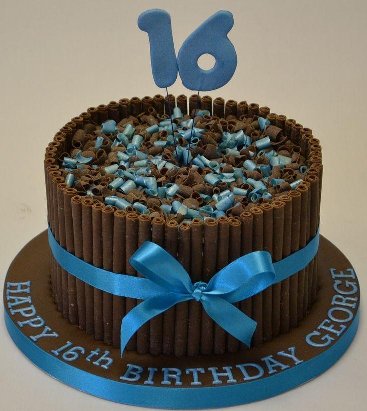 Enjoyable 16Th Birthday Cakes With Lovable Accent Boys 16Th Birthday Cake Funny Birthday Cards Online Necthendildamsfinfo
