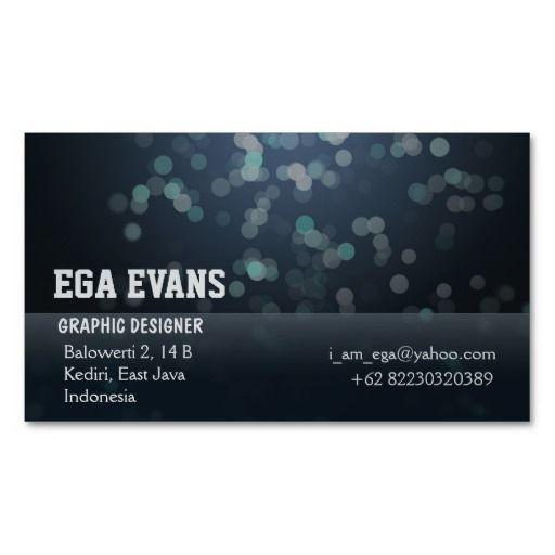 Cool Blue Blurry Circles Business Card . get it on : http://www.zazzle.com/cool_blue_blurry_circles_business_card-240712320270795319?rf=238054403704815742