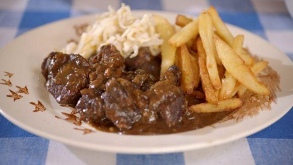 Eén - Dagelijkse kost - Stoofvlees-friet   Eén