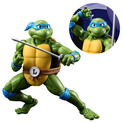 DEAL OF THE DAY Cowabunga! It's Leonardo, Dudes! Monday, December 12, 2016  IN STOCK NOW! Now's the time to grab this Leonardo SH Figuarts Action Figure from Teenage Mutant Ninja Turtles! Leonardo comes with his iconic katanas, an interchangeable head, 3 pairs of interchangeable hands, weapon-holding parts, and 2 manhole covers. For more TMNT action figures visit our Action Figure Store Today!!  TO BUY CLICK ON LINK BELOW http://tomatovisiontv.wix.com/tomatovision2#!action-figure/c1t9c