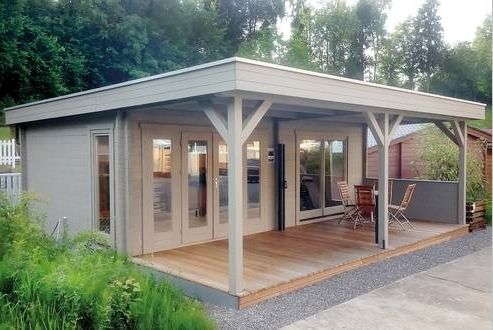 201 best Abris de jardin images on Pinterest | Sheds, Cabins and ...