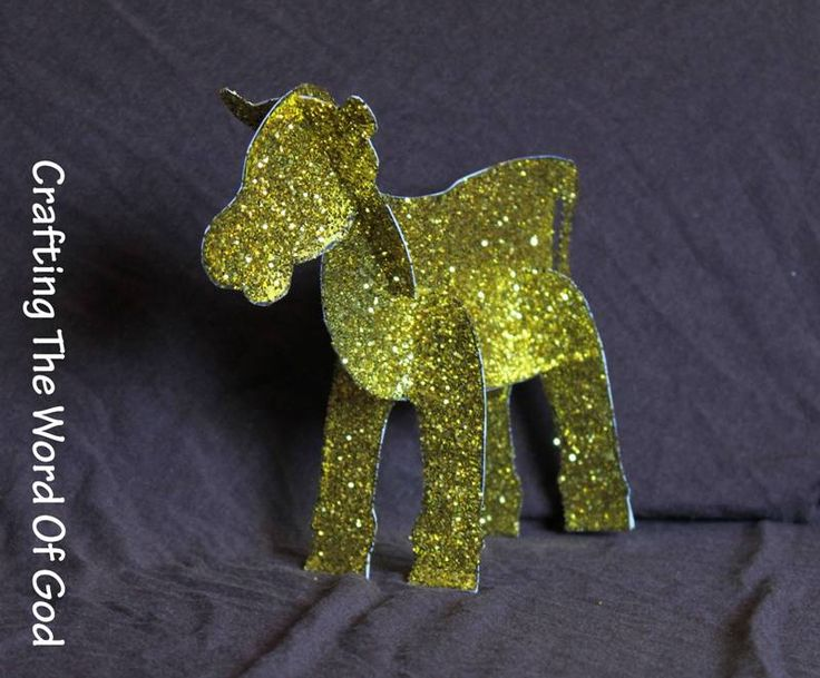 Golden Calf Idol Craft • Super awesome and easy!