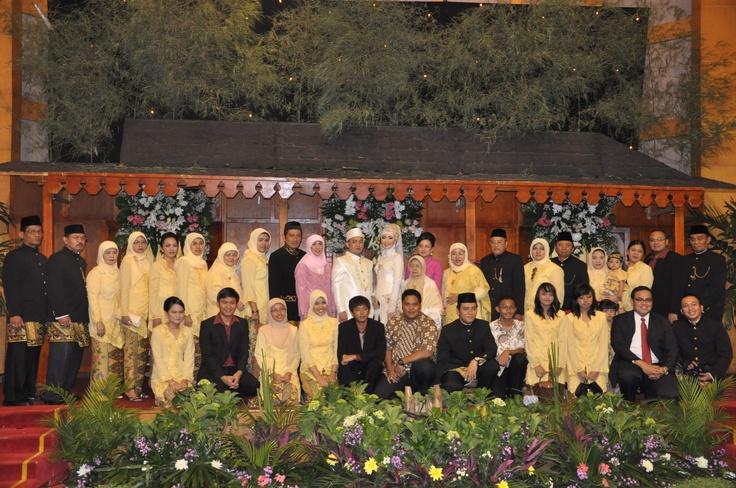 The bride family
