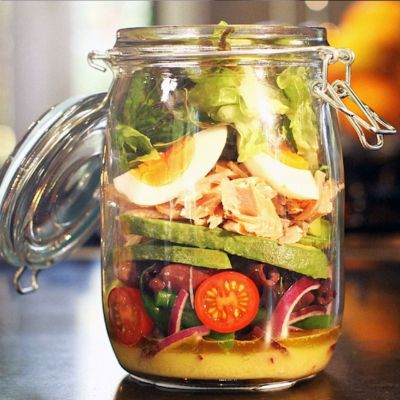 Nicoise Salad in a Jar (better looking than this one :)