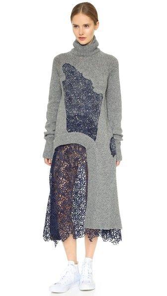 Acne Studios Кружевное платье Asta Shet