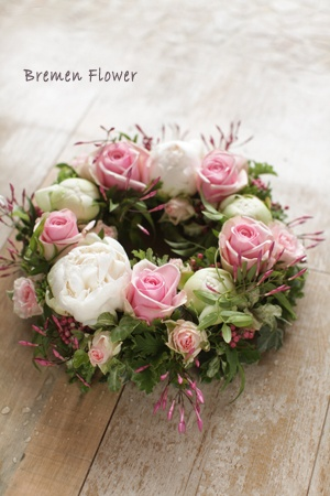.Delicate beauty .. pink jasmine and roses