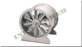 Indo Blower - Axial Fan Direction