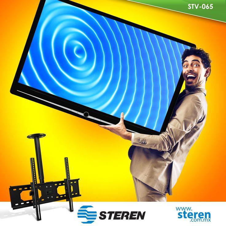 «La posición perfecta»: Soporte de techo para pantallas de LCD/LED de hasta 60 pulgadas