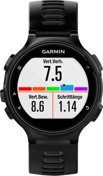 Garmin Умные часы Garmin 010-01614-15. Коллекция Forerunner735 XT  — 45090 руб. —  Спортивные ударопрочные часы GARMIN Forerunner 735XT HRM-Run. Беговые часы с GPS-приемником, функциями мультиспорт и пульсометром. Современные данные динамики для бега, велоспорта и плавания, включая баланс времени контакта с землей, длину шага, коэффициент вертикальных колебаний. Расчет VO2 max и лактатного порога, прогноз времени на соревнованиях и рекомендации по восстановлению. История кругов: 200 часов…