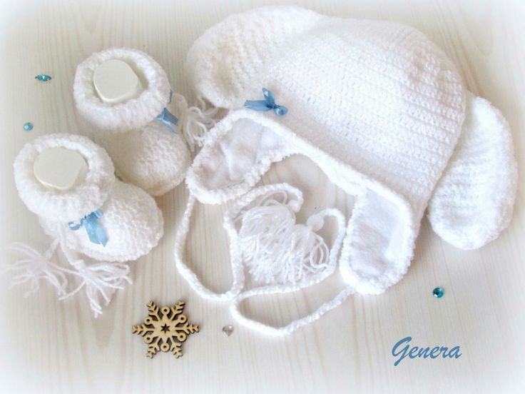 Крючком для девочки новорожденного