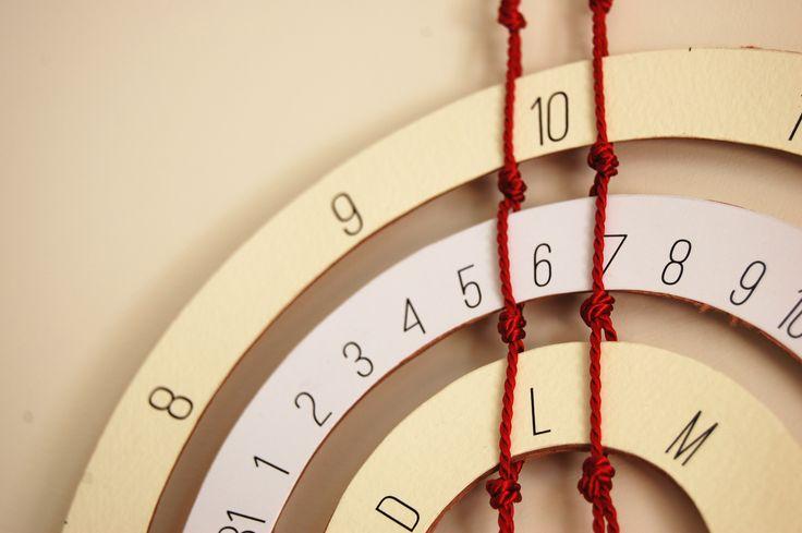 Samsara calendario perpetuo_ dettaglio