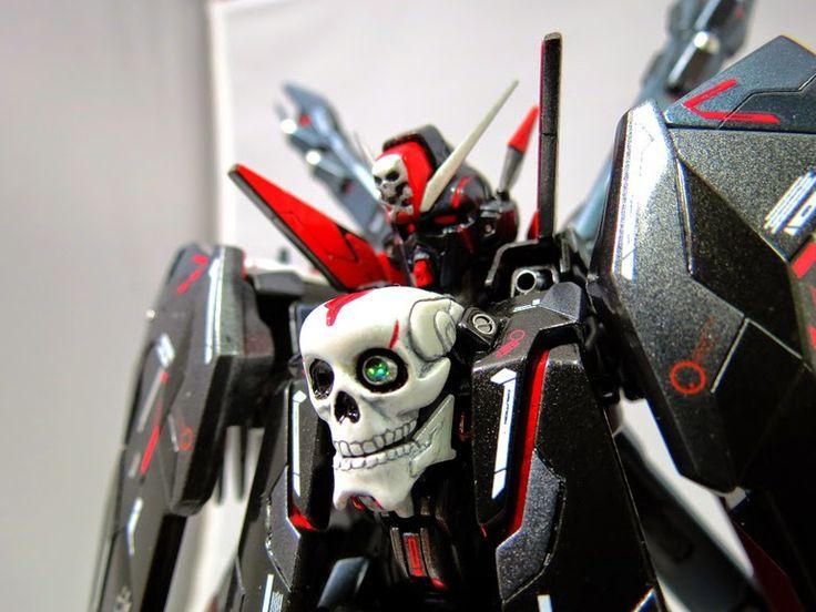 GUNDAM GUY: MG 1/100 Crossbone Gundam Full Cloth X Maoh - Custom Build