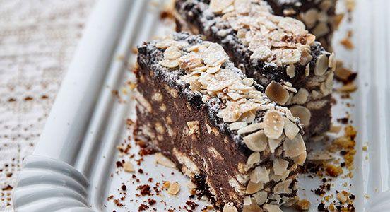 Μωσαϊκό με σοκολάτα και μπισκότα πτι-μπερ