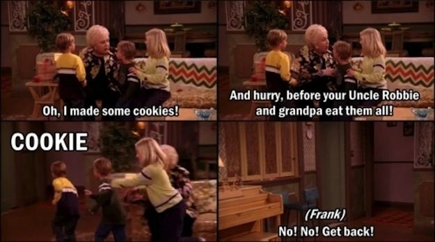 "You have a devoted love of dessert: | 31 Ways You Are The Grandparents From ""Everybody Loves Raymond"""