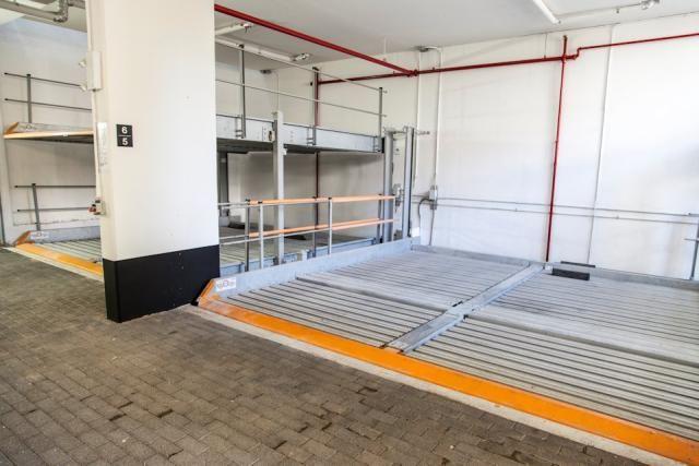 Stacked parking - Cube Lofts, Neilas Inc., RAW Design, Quadrangle Architects, Toronto