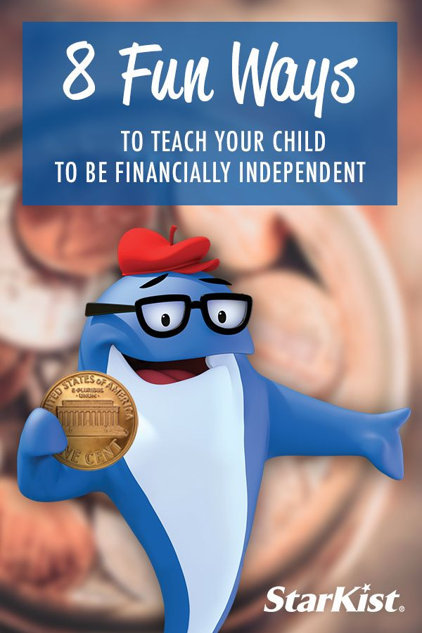 Here are 8 ways to teach your child how to become financially independent.