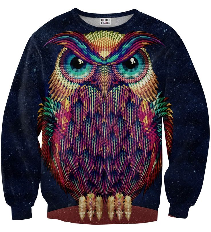 Space Owl sweater, Mr. GUGU & Miss GO